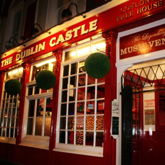 The Dublin Castle in Camden, for drinks and music