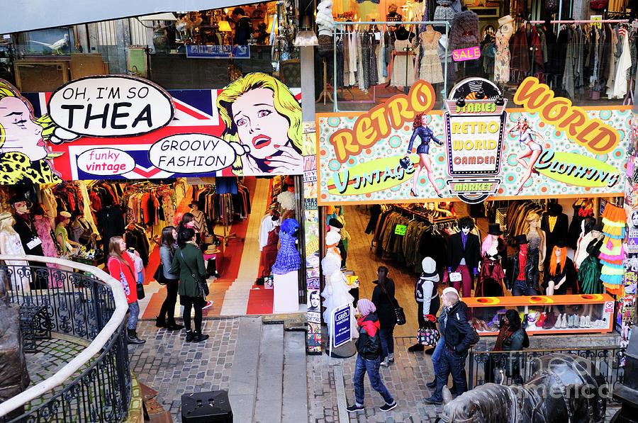 shops in Camden Market