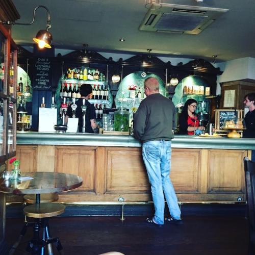 Spread Eagle Pub in Camden Town