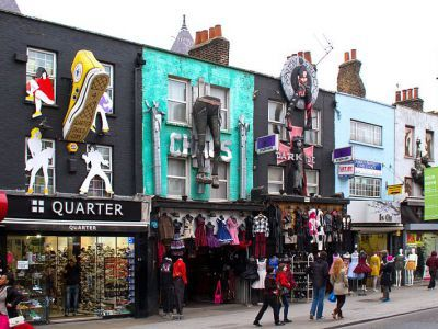 Shopping in Camden Town