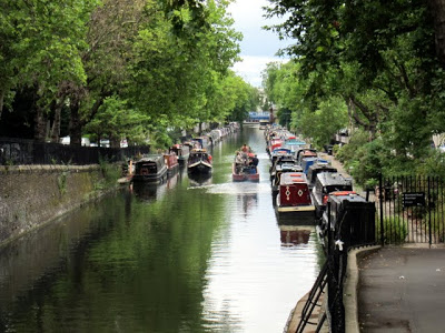 Take a walk or canal boat trip down Regent's Canal