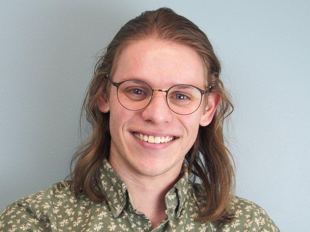 M.Sc. student Peter Mower