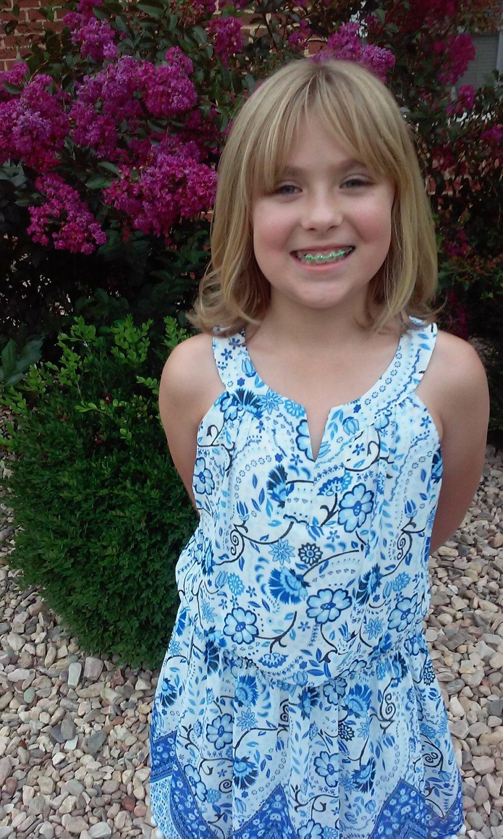 Haley Walker, 9 years old