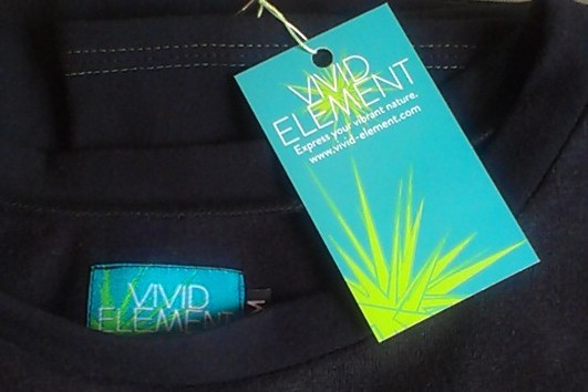 New Vivid Element branding on tags.