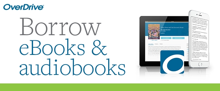 OverDrive - Access to ebooks & audiobooks. Borrow up to 5 titles at a time. You can download the Libby app or visit online. Compatible with most eReaders, including Kindle.