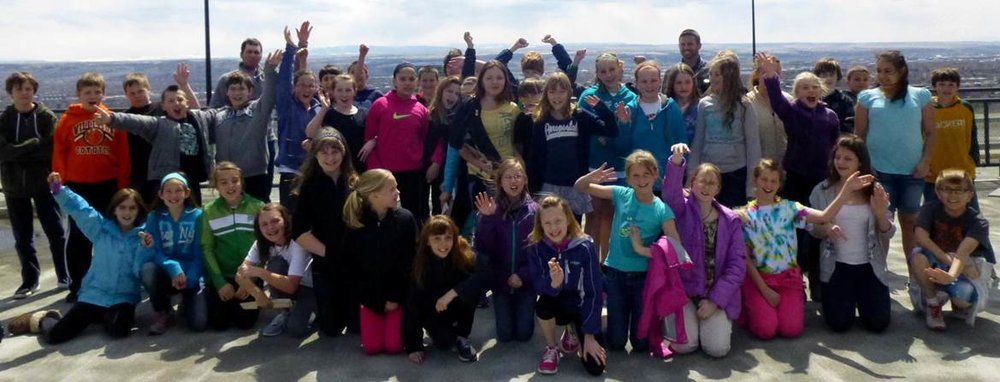 5th graders from Boulder Elementary School