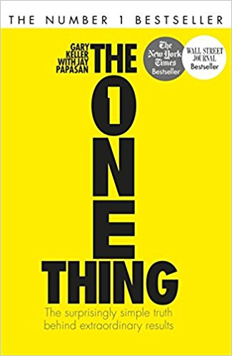 The one thing - An excellent book that we highly recommend. It provides a simple step by step process that you can use in any area of your life, not just with nutritionBUY HERE