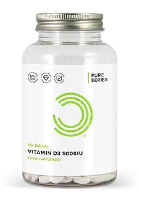 VITAMIN D - One of the most crucial vitamins for optimal health and performance. It is one of the most common deficiencies we see when doing testing with clients.Its so cheap (both to test and to supplement) and will have huge benefits for performance, recovery, muscle function, energy levels as well as immune health.A real essential. Take 5000 iu per day. Get tested to monitor levels twice per year