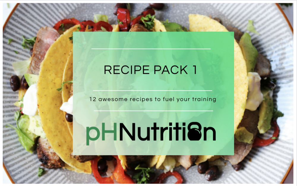 Monthly recipe pack - For Rx members we have a monthly recipe pack. 12 new recipes each month for you to download. All categorised into the meal plates and with macro breakdown.