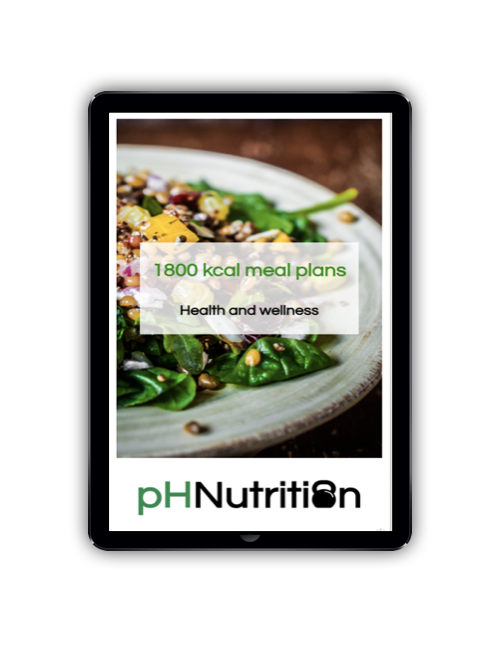1800 calorie meal plans - Meal plan examples for 1800 kcal for morning, lunchtime and evening training