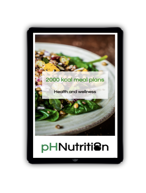 2000 calorie meal plans - Meal plan examples for 2000 kcal for morning, lunchtime and evening training
