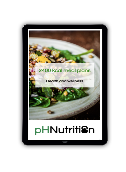 2400 calorie meal plans - Meal plan examples for 2400 kcal for morning, lunchtime and evening training