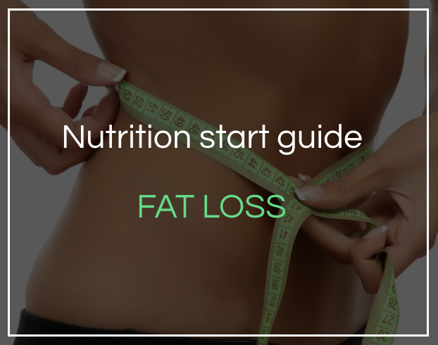 Nutrition for fat loss start guide - Download for an overview of how to get your fat loss nutrition plan started.
