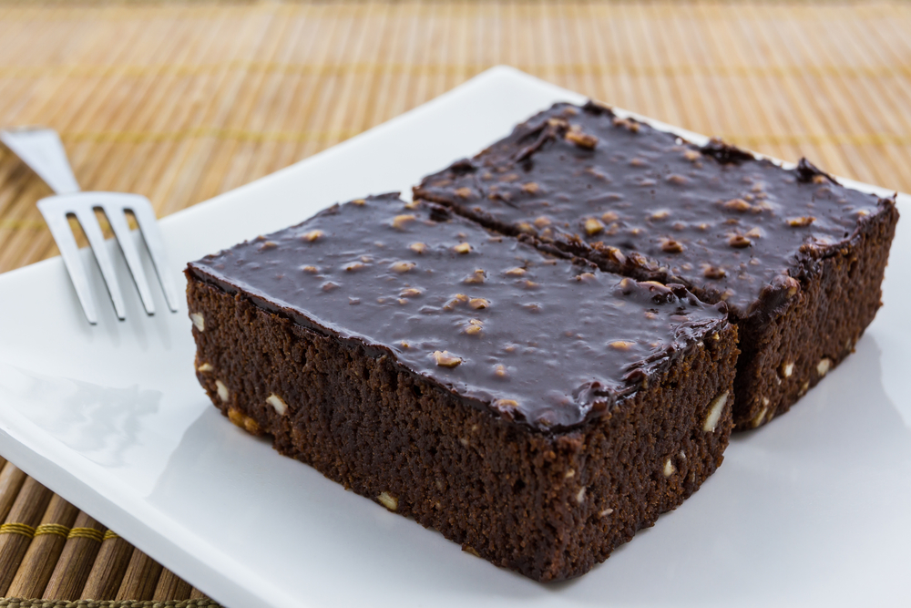Here's just a nice picture of a brownie