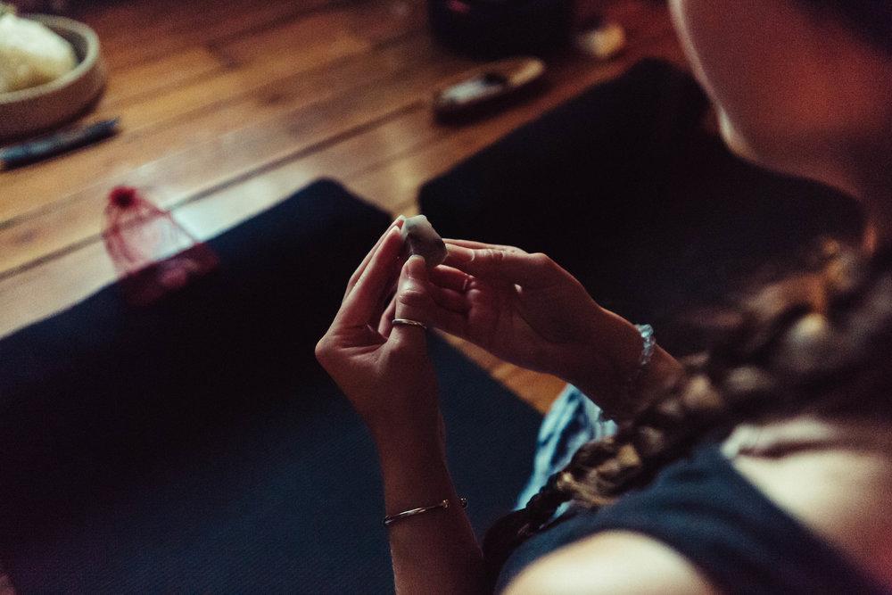 crystal meditation -