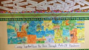 Kindness board - Classroom put together what kindness means to each of them