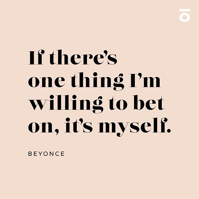 💫 Words from our icon @beyonce
