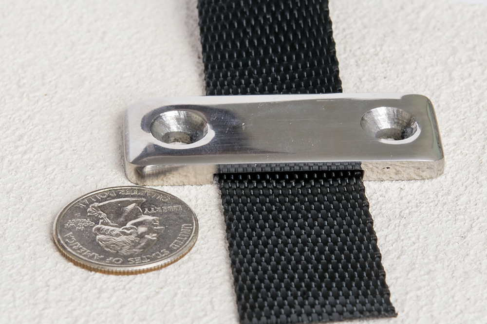 Strap with Strap Deck Plate