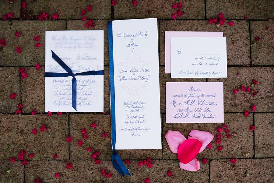 Rose_Hill_Plantation_Wedding_Laurel_Calligraphy_prograpm_invitation.jpg