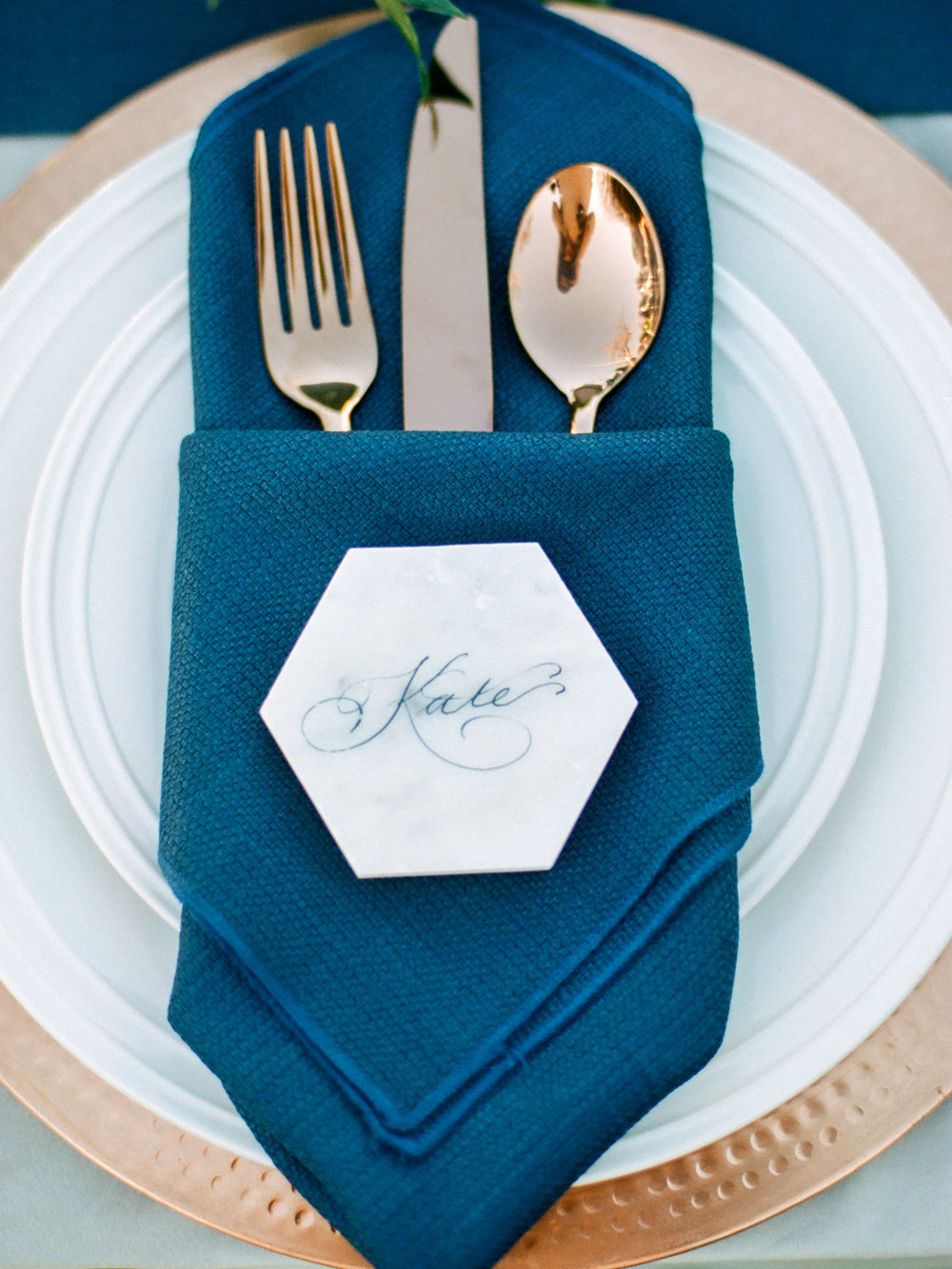 Escort Cards on Nontraditional Surfaces