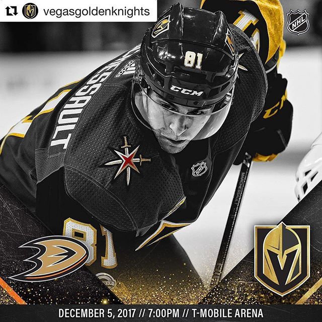 Tonight @tmobilearena here in  Vegas !!! #Repost @vegasgoldenknights (@get_repost) ・・・ Jonathan Marchessault looks to keep at it against the Ducks tonight 👊🔥 WATCH: AT&T SportsNet with Shane Hnidy, Dave Goucher & Aly Lozoff LISTEN: Fox Sports 98.9/1340 with Dan D'Uva, or ESPN Deportes 1460 with Alvaro Puentes & Jesus Lopez!  #VegasBorn 🏒  #Overthetoplv #LasVegas #LV #GoldenKnights #Ducks #Anahiem  #Hockey #NHL #Espn #Sportcenter #History #Proteam #Tmobilearena #Unlv #Sports #Media #SportsNews #Coach #Business #BrandNew #BreakingNews #CollegeLife #VegasGoldenKnights #Royalty