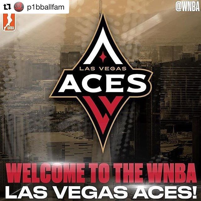 "#Repost @p1bballfam (@get_repost) ・・・ 🏀WNBA Las Vegas Aces! From @wnbahoopz: ""ITS OFFICIAL! The Las Vegas Aces!"" @LVAces #WNBA #lasvegasaces #WatchMeWork #vegas @mandalaybay  #Overthetoplv #LasVegas  #Buckets #Hooper #HoopDream #BallisLife #Pro #NBA #MVP  #Offense #InstantOffense #GameChanger #Superstar #Elite  #Handles #Efficient #SecuretheBag #Nike #Adidas #Jordan #SportsTalk #Goat"
