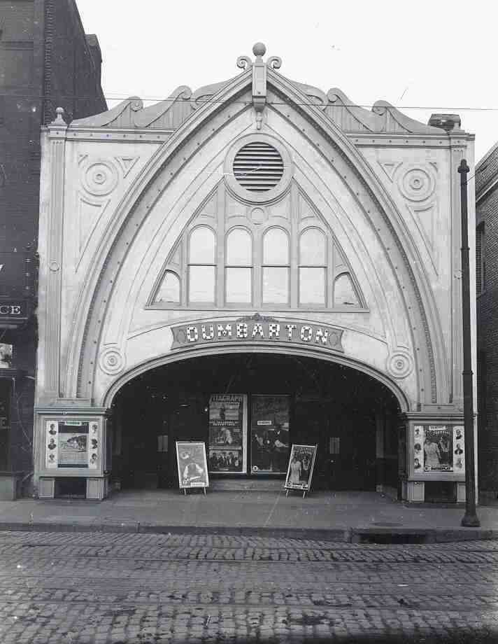The Dumbarton Moving Picture Theatre shortly after its opening, 1913   via