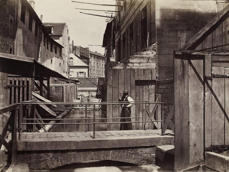 Rue de Gobelins before renovation   via