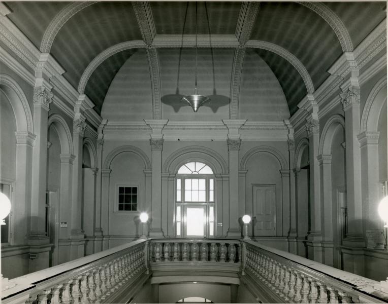 Stair Hall, 1956   via