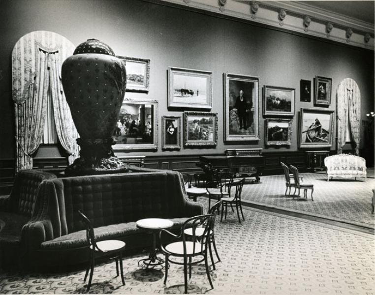 The Grand Salon, 1974   via