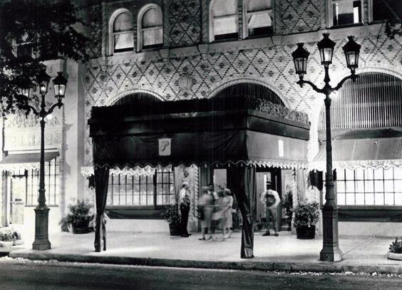 The hotel, circa 1940s   via