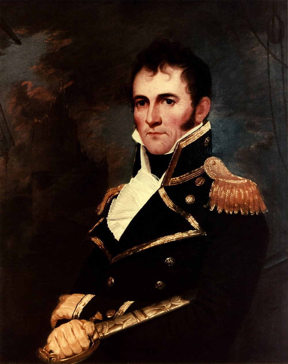 Commodore David Porter, who gave the area its name,   via
