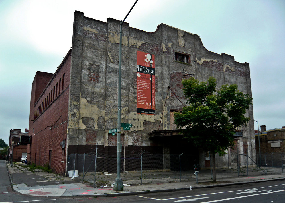 The abandoned theater   via