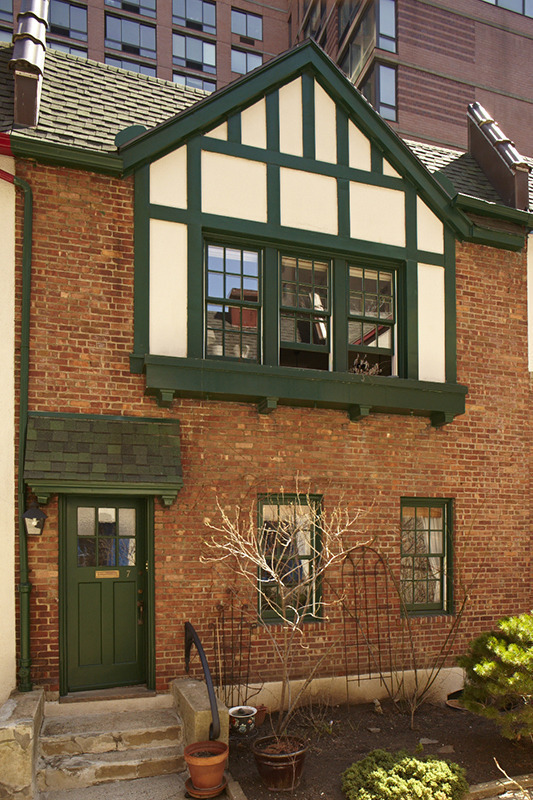 One of the townhouses   via