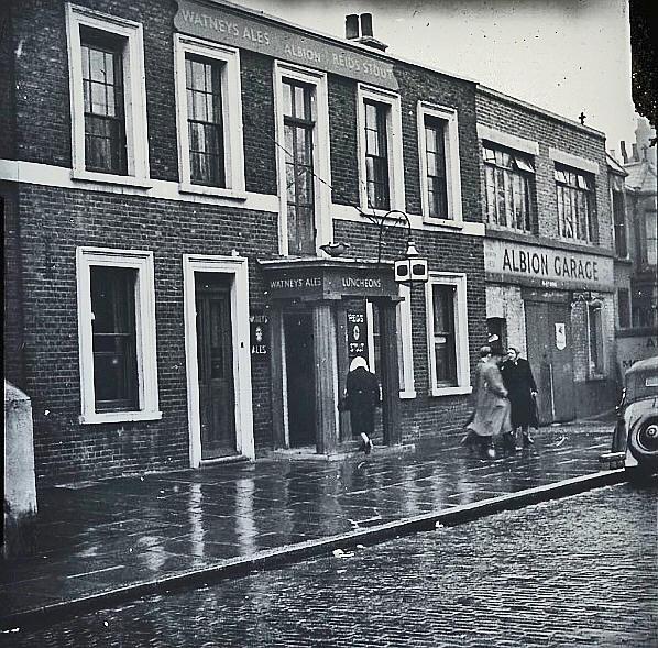 The Albion, c. 1930's-1950's,  via
