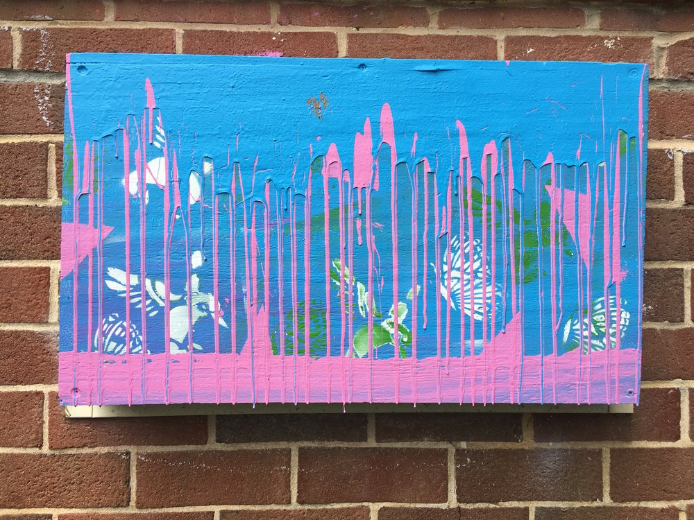 A collaboration between Troy Reid and a young hearing-impaired artist who found a new voice in visual art.