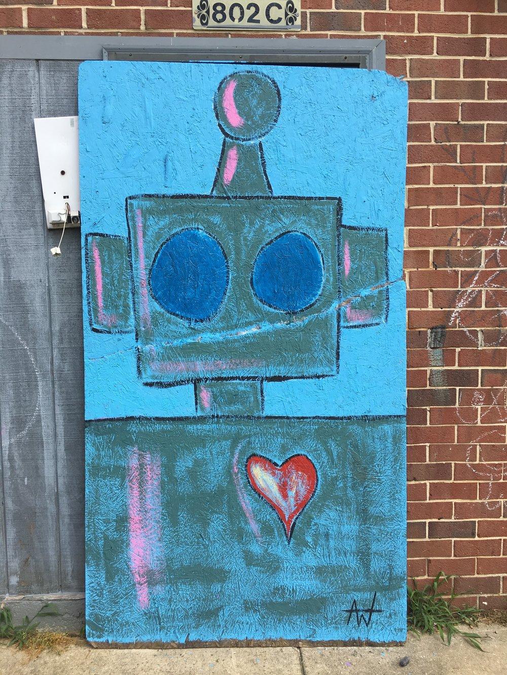 "Anthony LaVorgna's ""Love Bot."""