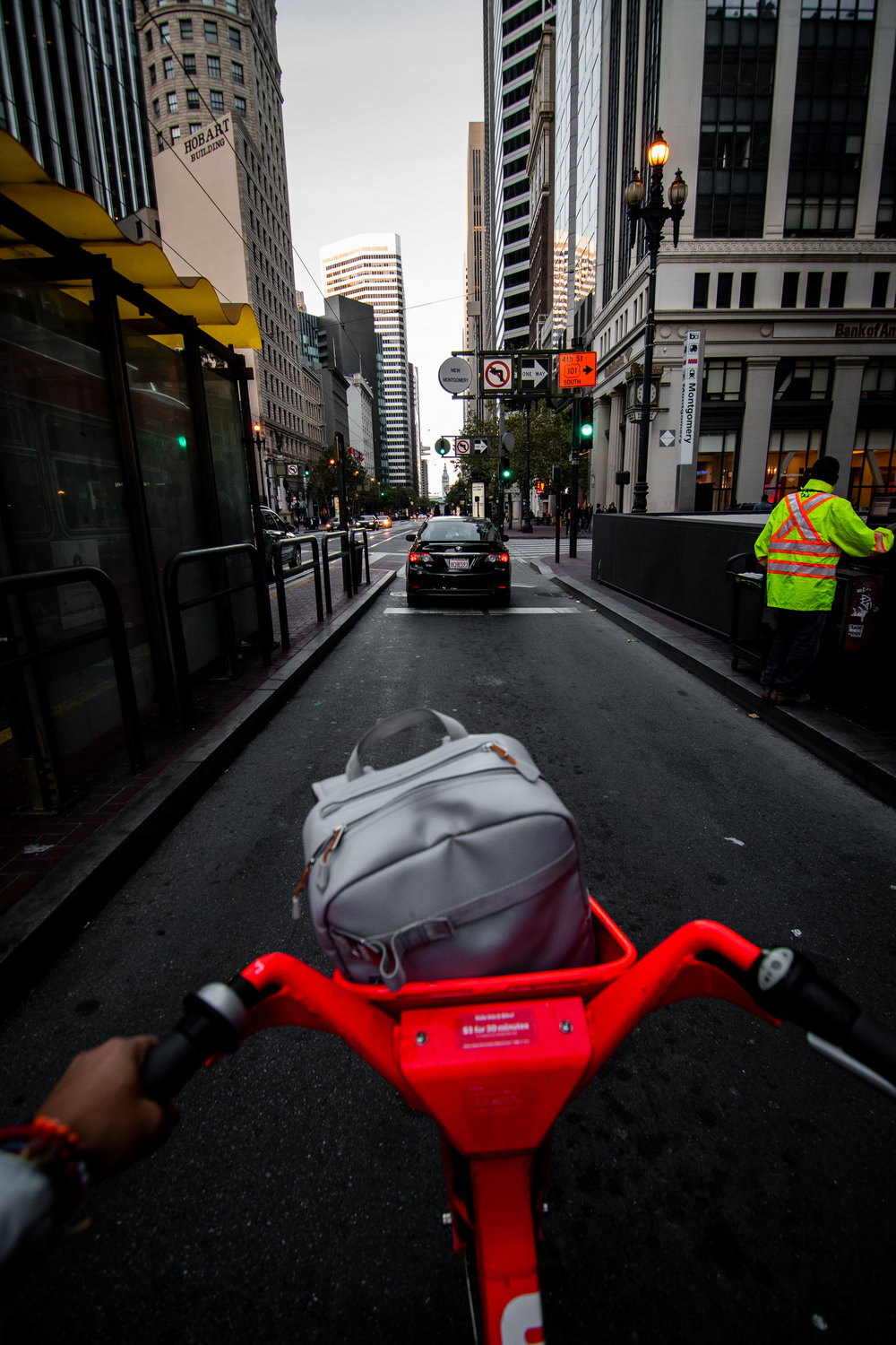 JUMP bikes are a most if you're in the city! Makes getting around so much easier..
