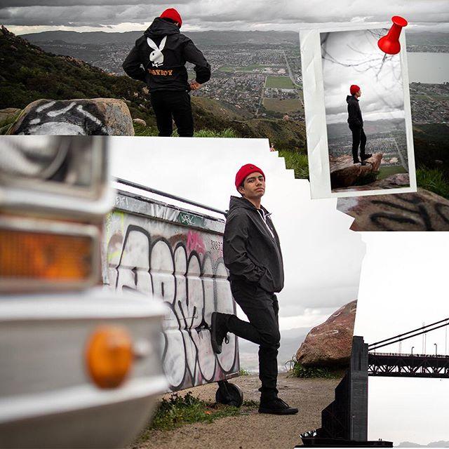 Where's Waldo?  Ortega Hwy views w/ @alex.cavazos yesterday.