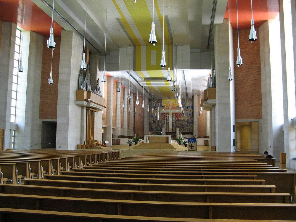 St. Benedict Abbey Church  Photo by Randy OHC/CCA-SA 2.0
