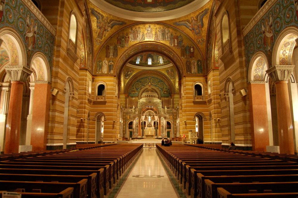 Cathedral Basilica Interior  Photo by Andrew Balet/CCA-SA 2.5