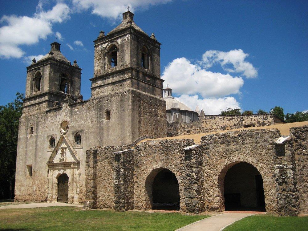 Mission Concepcion, San Antonio, TX  Photo by Travis Witt/CCA-SA 3.0
