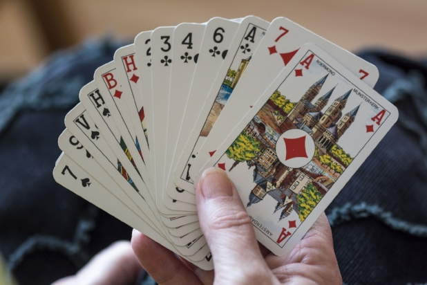 Deck of cards:  Often you'll have downtime while waiting for Mass to begin or to catch a glimpse of Pope Francis. Cards will be a welcome way to pass the time with your new friends on pilgrimage.