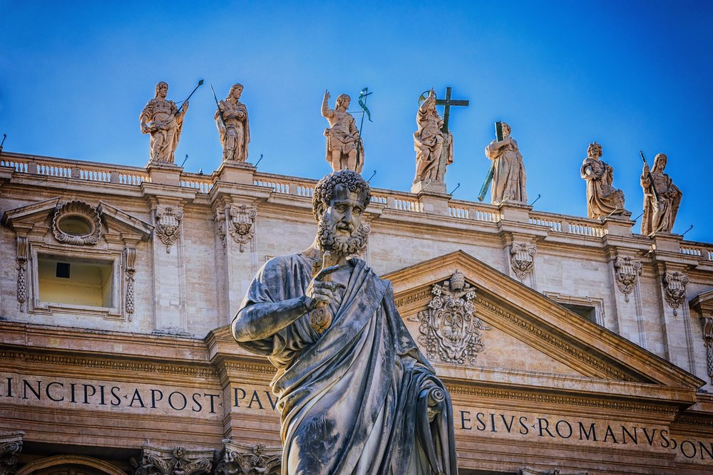 Walk with the saints - Pray at the tombs of saints like St. Peter, St. Paul, St. John Paul II, St. Catherine of Siena, St. Francis of Assisi, St. Monica, St. Ignatius, and many more.