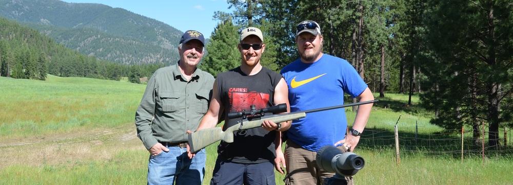 (L-R) Thom Butcher, Dan, Zach Butcher