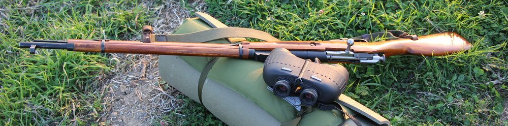 Balman enjoys shooting groundhogs out past 100 yards with his Mosin-Nagant, using irons.