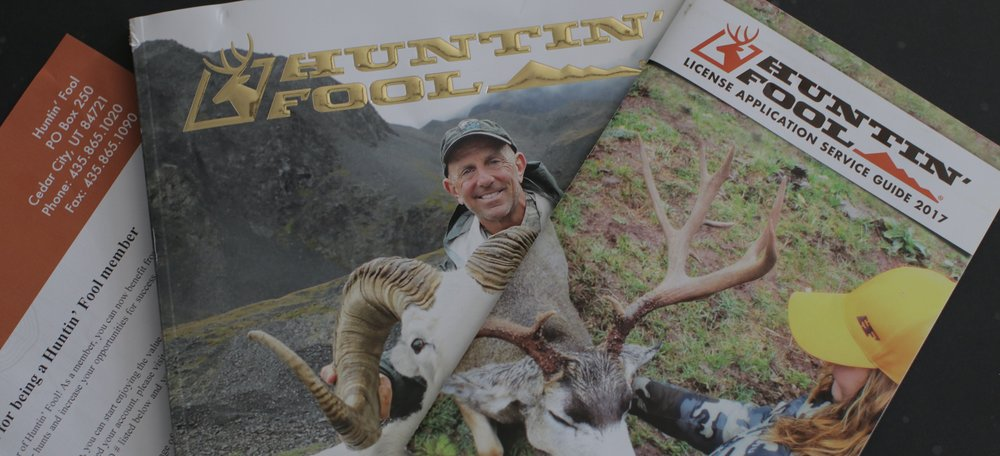 Huntin' Fool  hunt advisors are second to none, the magazine rocks, and the info available is amazing.