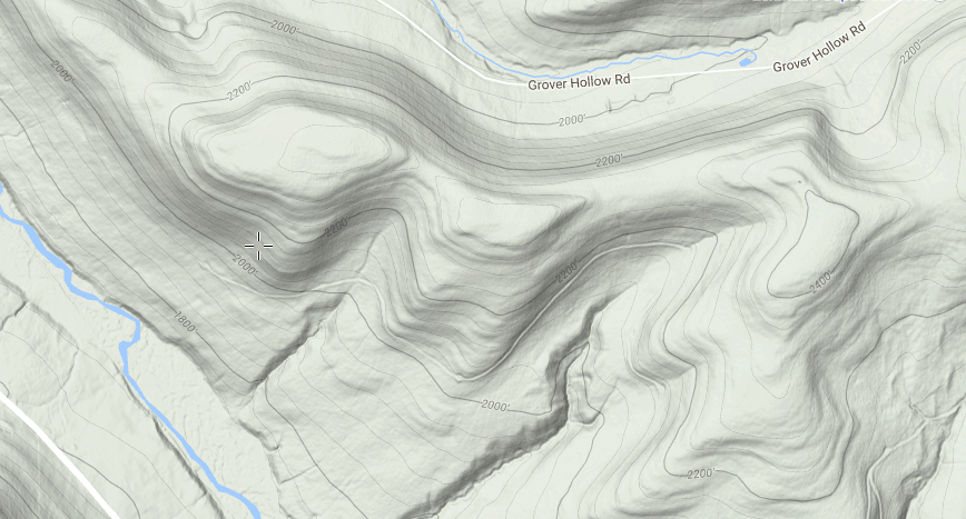 Topo lines are also available on MappingSupport.