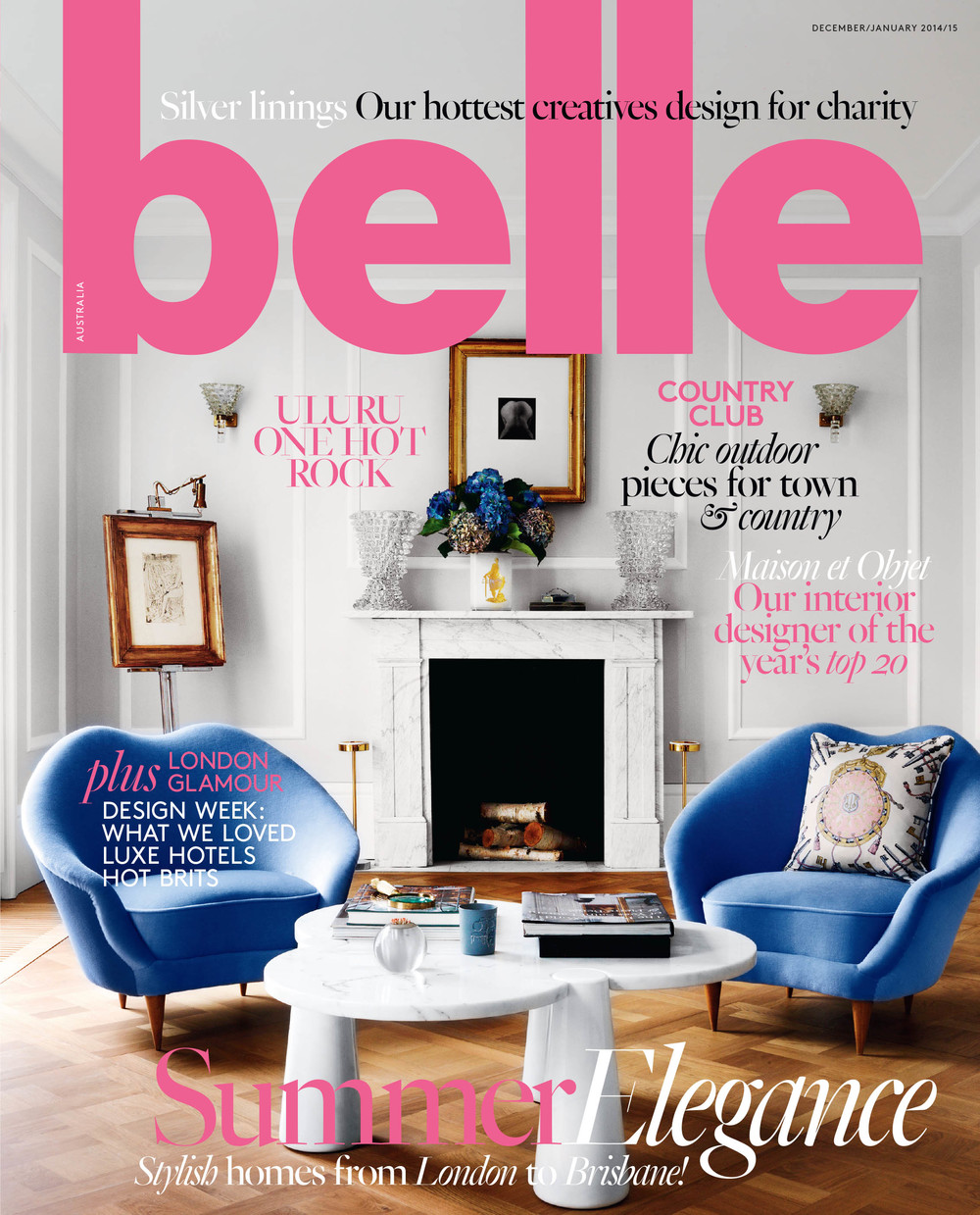 DEC 2014 | 'MADE TO MEASURE '       BELLE MAGAZINE