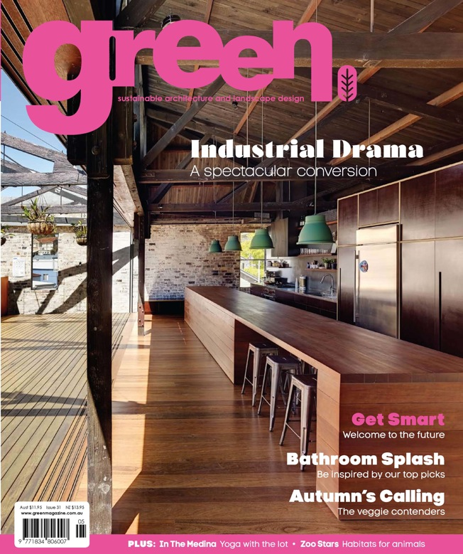 APRIL 2013 | 'SISTER ACT'                 GREEN MAGAZINE